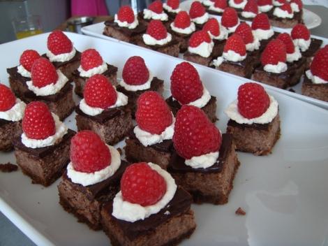 Cheesecake au chocolat d'Andrew