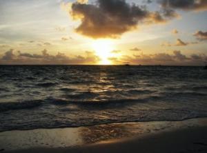 Lever de soleil, République Dominicaine