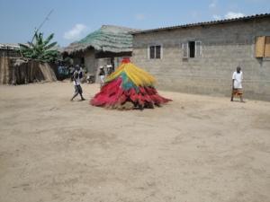 Un zangbéto, Bénin