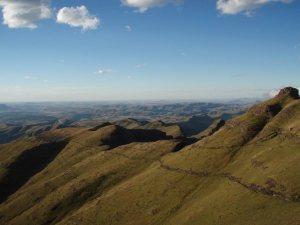 Région de Drakensberg, Afrique du Sud