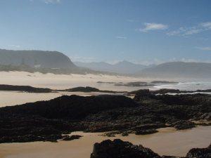 La plage de Nature's Valley en Afrique du Sud