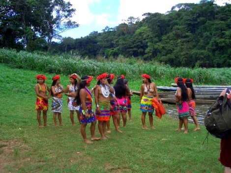 Chez les indigènes Embera