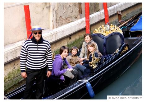 Venise avec les enfants