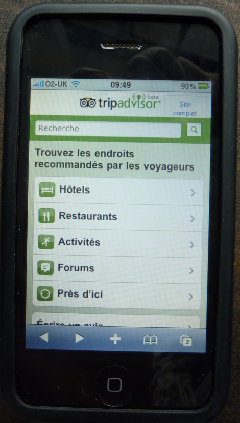 Les forums sur mobile