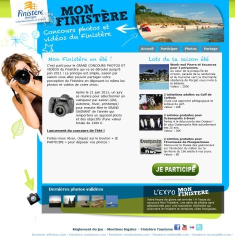 Concours Mon Finistère