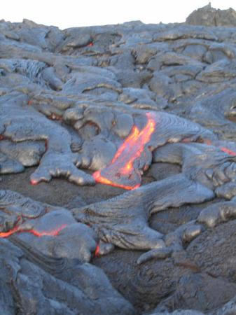 Champs de lave du volcan Kilauea, Hawaii