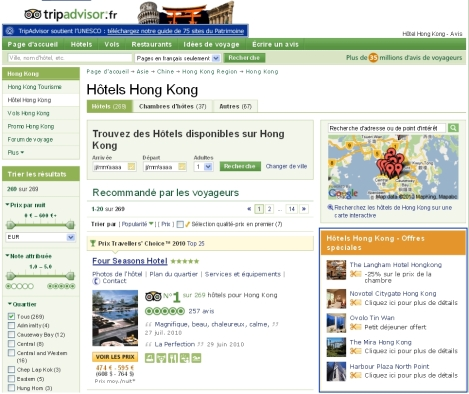 Hôtels Hong Kong - Offres Spéciales
