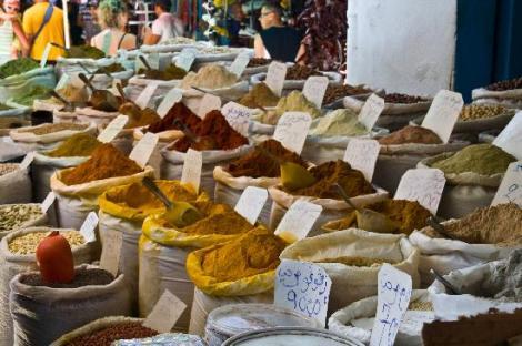 Le marché aux épices, Sousse