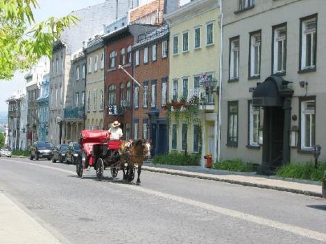 Charmante rue du Vieux Québec