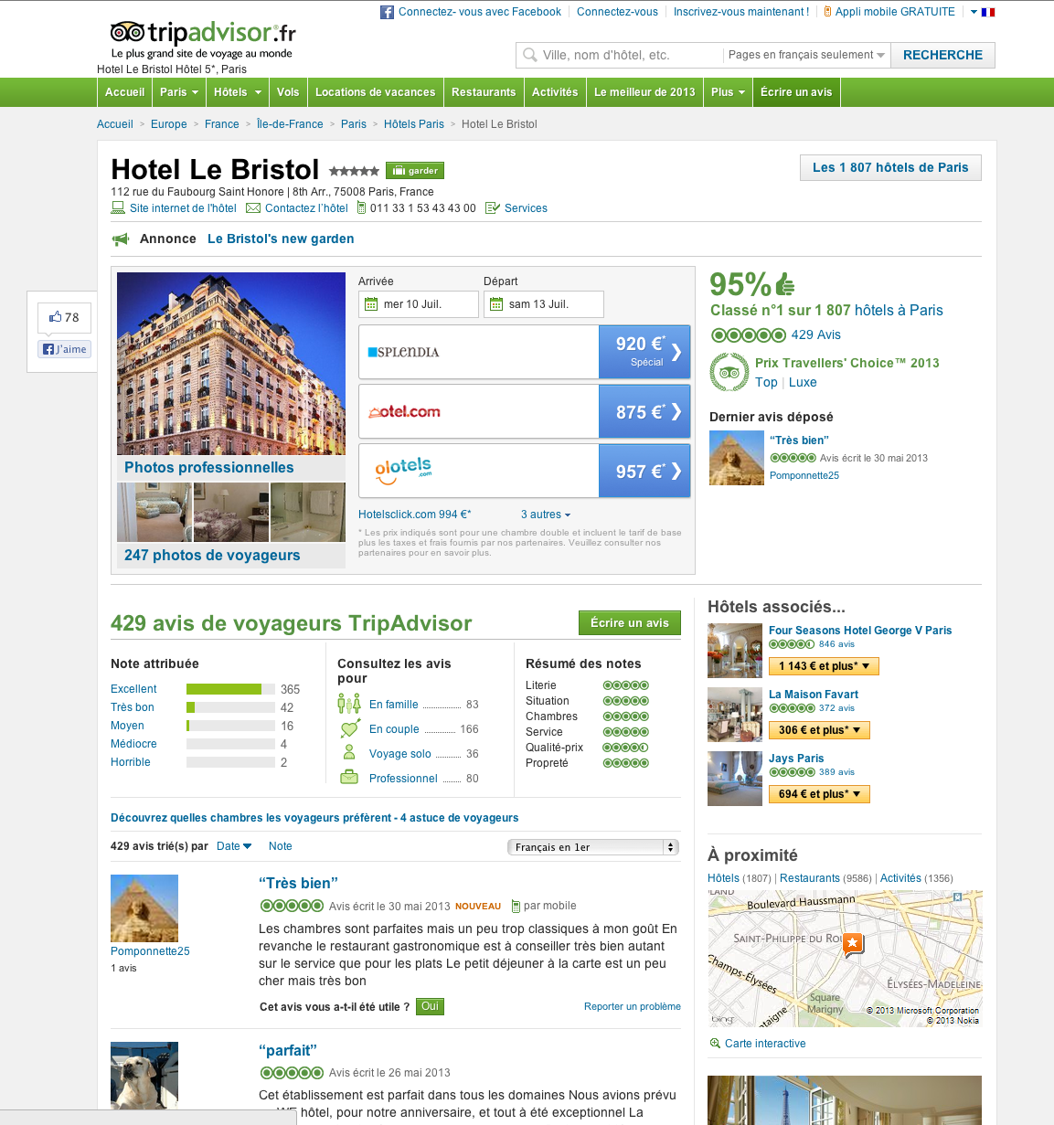 Recherche d h tels le blog de la communaut for Hotel recherche